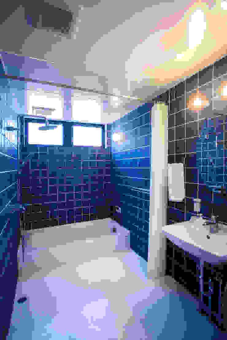 TMS オリジナルスタイルの お風呂 の ZOYA Design Office オリジナル タイル