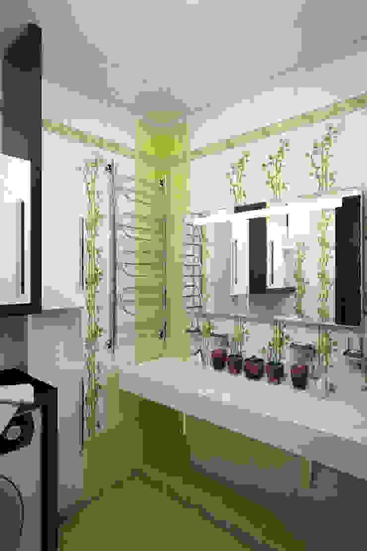 Ванная - новостройки Москвы Ванная комната в стиле модерн от Myroslav Levsky Модерн