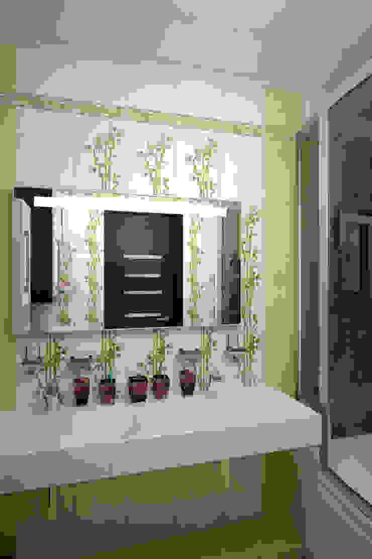 Ванная – новостройки Москвы Ванная комната в стиле модерн от Myroslav Levsky Модерн