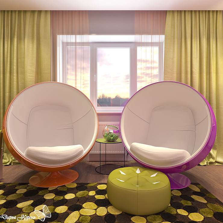 game room Медиа комнаты в эклектичном стиле от Your royal design Эклектичный