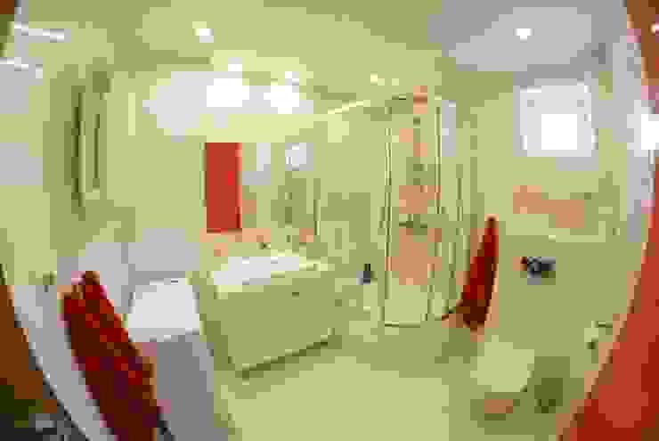 Metamorfoza łazienki od Ewa Weber - Pracownia Projektowa Nowoczesny