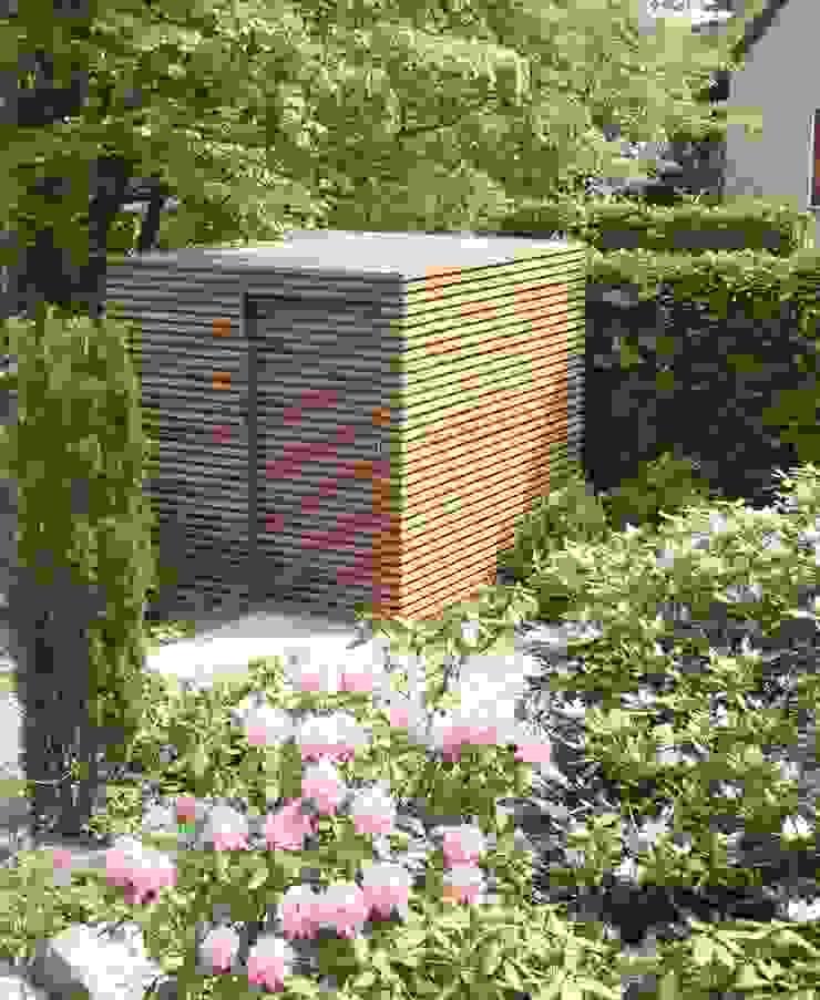 Modern style gardens by Fellbacher Metall- und Holzbau GmbH Modern