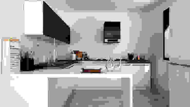foto cucina 1 Cucina moderna di UGAssociates Moderno