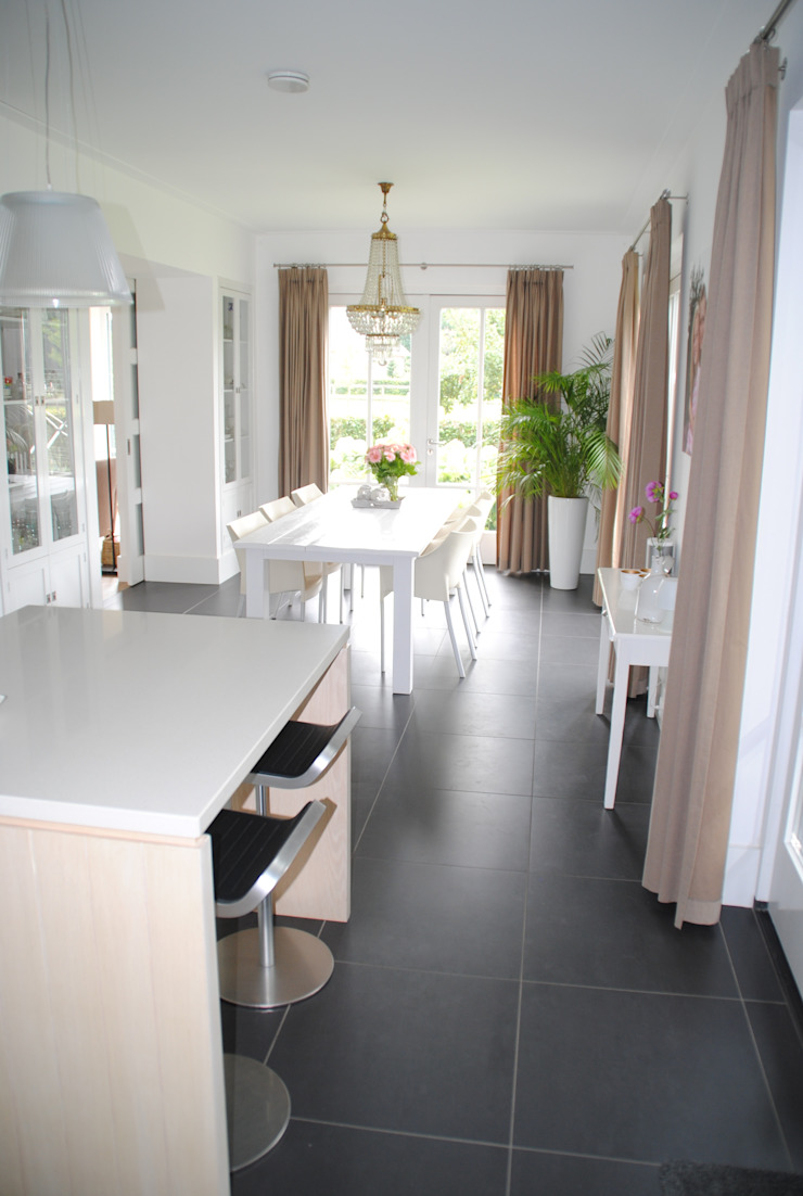 halma-architecten Classic style dining room