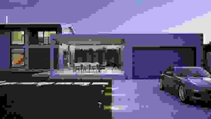 Дом AUS Дома в стиле минимализм от INT2architecture Минимализм