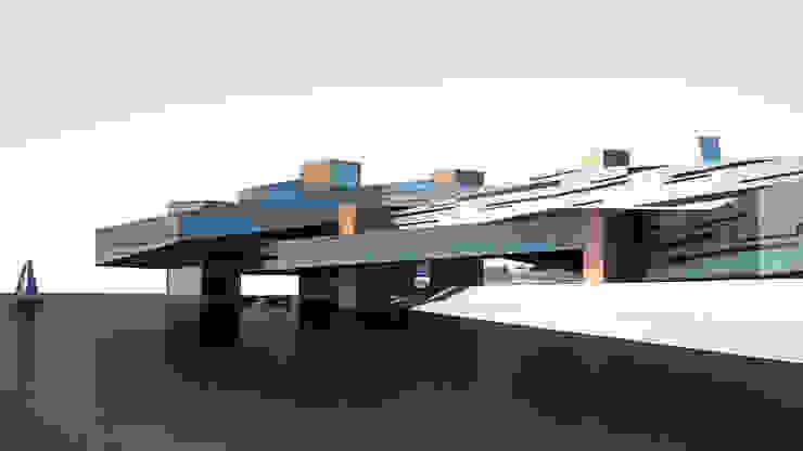 Реконструкция портовой зоны. Музей времени и пространства. Дома в стиле минимализм от INT2architecture Минимализм