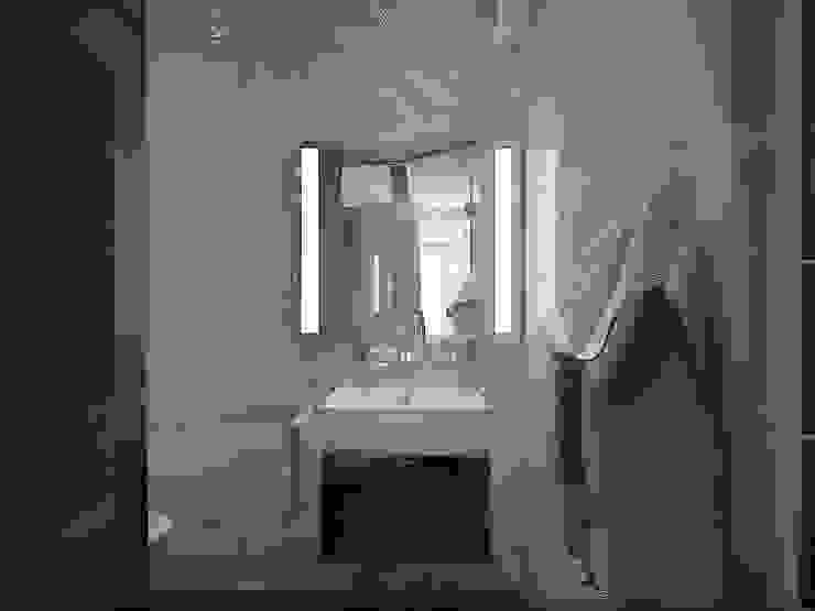 дизайн-студия 'КВАДРАТ' Ванна кімната