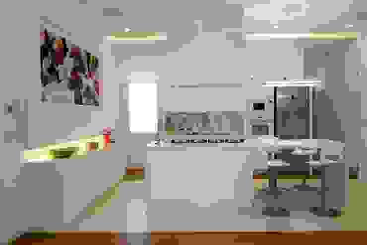 CASA SG 14 Cucina moderna di CalìArchitetti Moderno