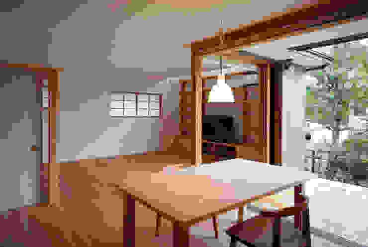リビング・ダイニング 瀧田建築設計事務所 オリジナルデザインの ダイニング