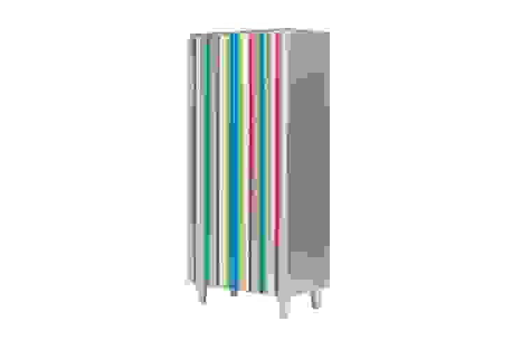 Armario piano plata con sintonia de colores. de Almacenimport.com Moderno