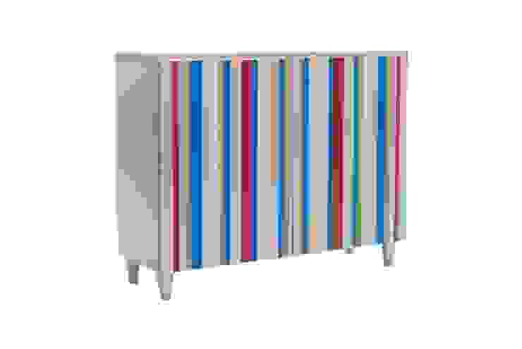 Aparardor plata con sintonia de colores. de Almacenimport.com Moderno