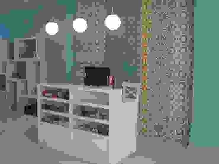 Balcão de atendimento por Traço Magenta - Design de Interiores Moderno