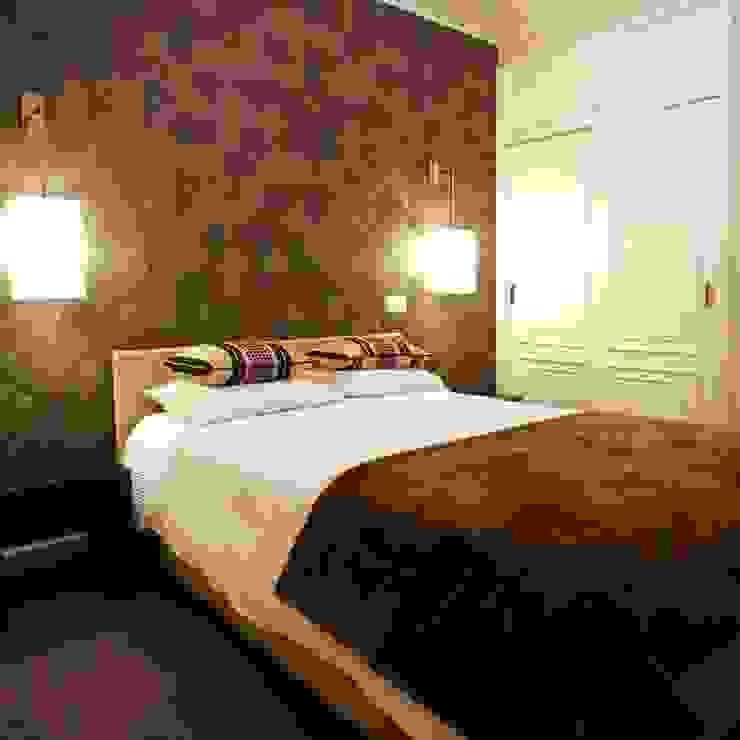 Traço Magenta - Design de Interiores Chambre moderne
