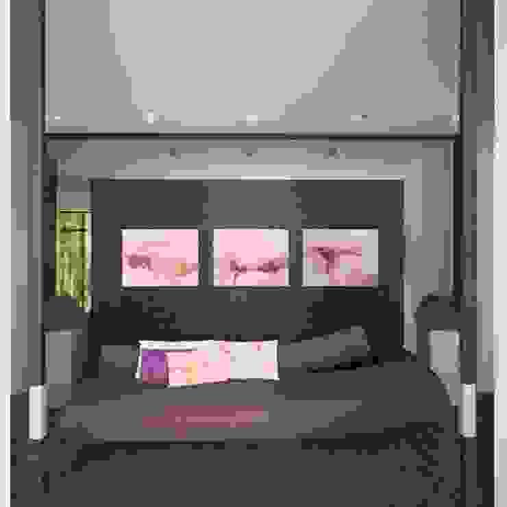 Загородный жилой дом 380 м2 Коридор, прихожая и лестница в стиле минимализм от KARYADESIGN architecture studio Минимализм