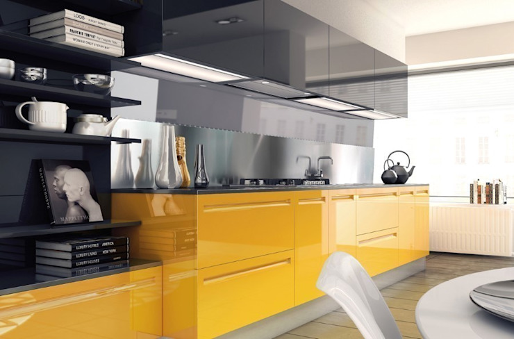 Kitchen تنفيذ homify