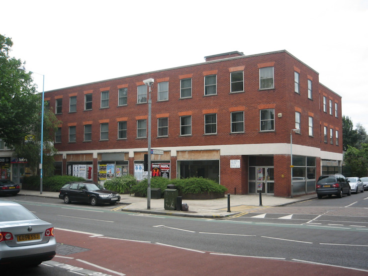 Existing building that was demolished by 3s architects and designers ltd