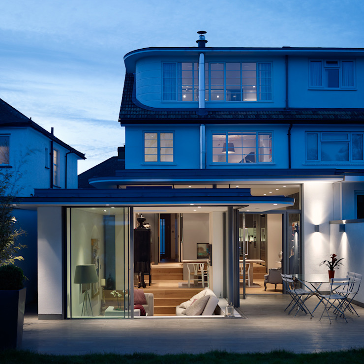 Rear elevation by 3s architects and designers ltd