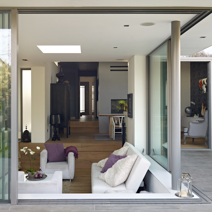 Sliding doors por 3s architects and designers ltd