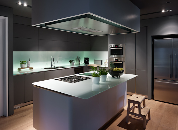 Kitchen:   by 3s architects and designers ltd,