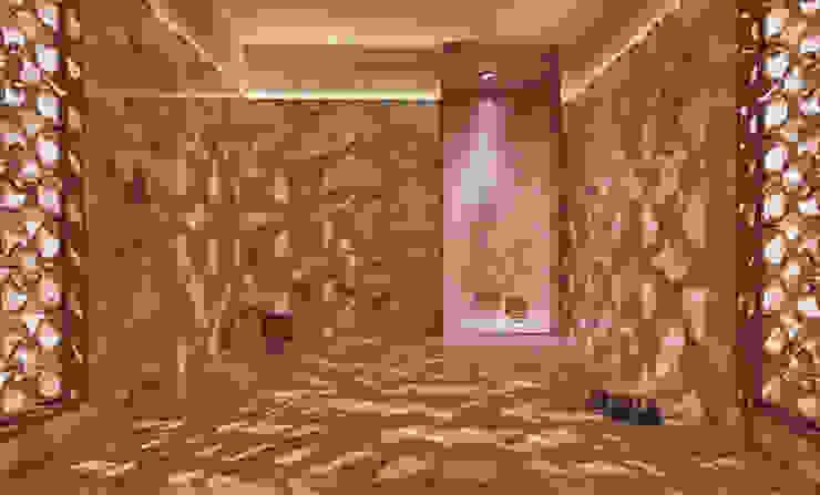 Drummonds Case Study: Urban Retreat Hammam at Harrods Mediterranean style shopping centres by Drummonds Bathrooms Mediterranean