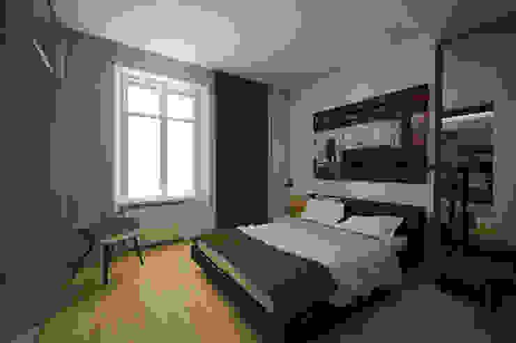 camera da letto Pasquale Mariani Architetto Camera da letto moderna
