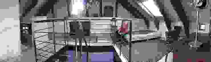 REHABILITATION D'UNE MAISON Chambre moderne par ATELIER DU GRAND TILLEUL Moderne