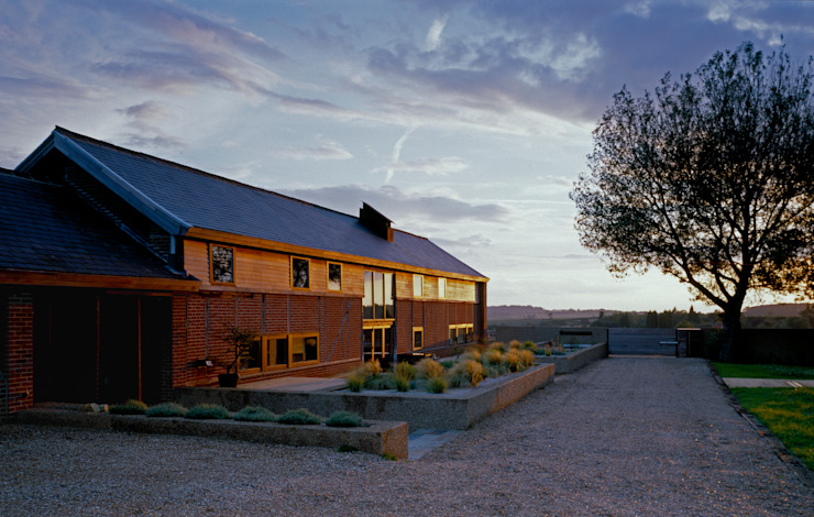 The Long Barn Country style houses by Nicolas Tye Architects Country