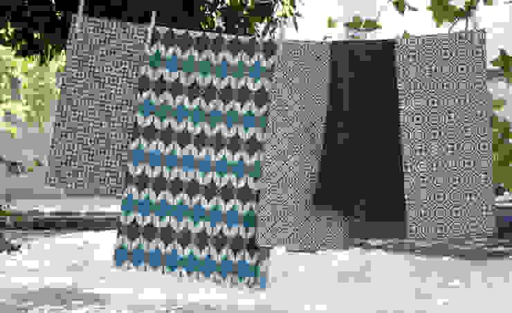 Cotton and linen hand screen printed fabrics : scandinavian  by akin & suri, Scandinavian