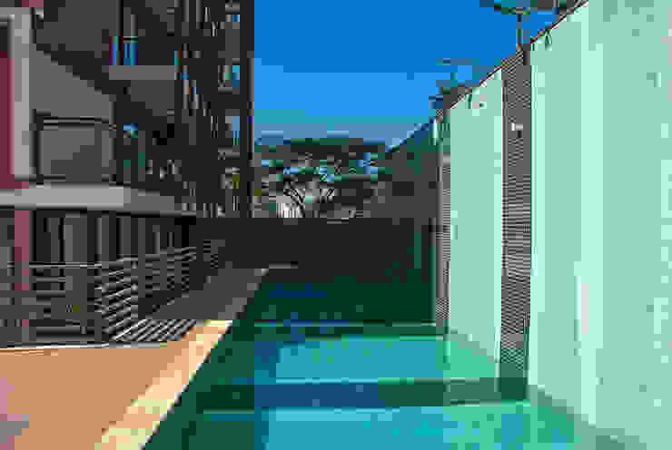 Let's Perdizes   edifício Piscinas modernas por ARQdonini Arquitetos Associados Moderno