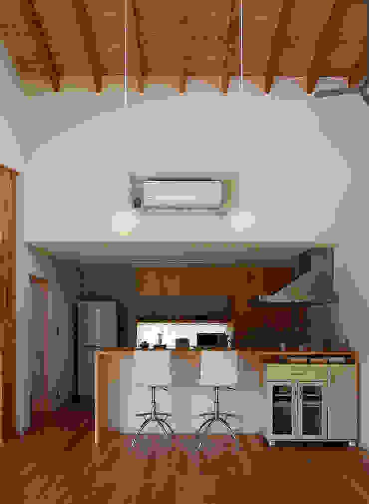 一色白山の家/house of isshikihakusan 北欧デザインの キッチン の haco建築設計事務所 北欧