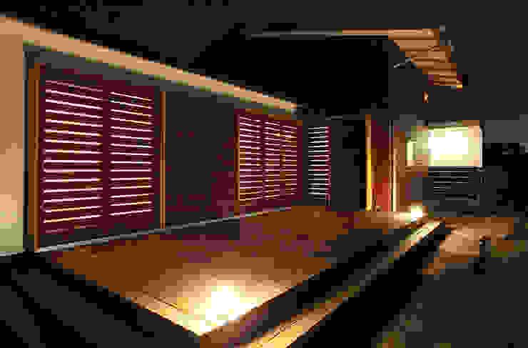 一色白山の家/house of isshikihakusan 北欧デザインの テラス の haco建築設計事務所 北欧