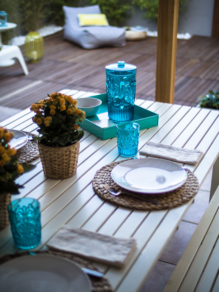 Rustic style gardens by MUDA Home Design Rustic