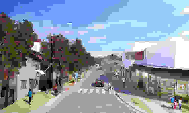 Requalificação Urbana - Jardim Colombo Casas modernas por Levisky Arquitetos | Estratégia Urbana Moderno