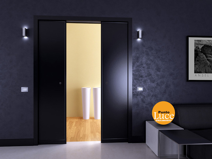 Casoneto mod. Punto Luce Puertas y ventanas de estilo moderno de PUERTAS CALVENTE S.C.P. Moderno
