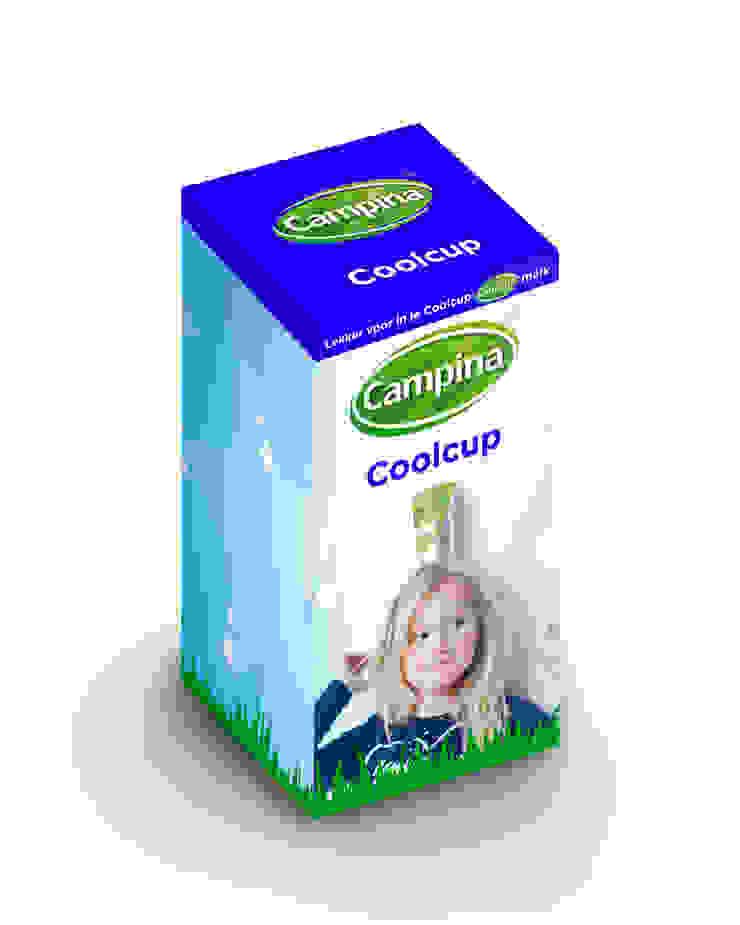 Campina | Coolcup 2014: modern  door Studio Linda Franse, Modern