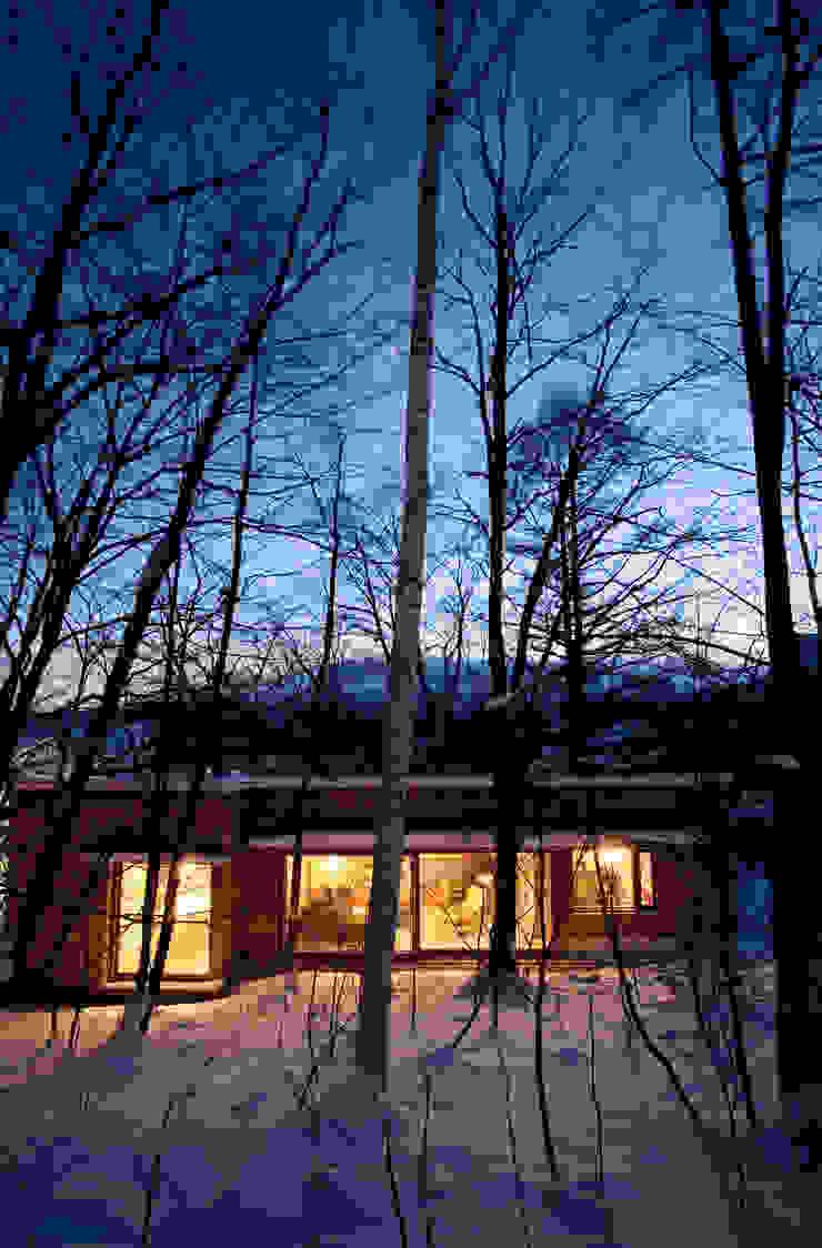 雁木のある家 オリジナルな 家 の YASUO TERUI Architects Inc. オリジナル