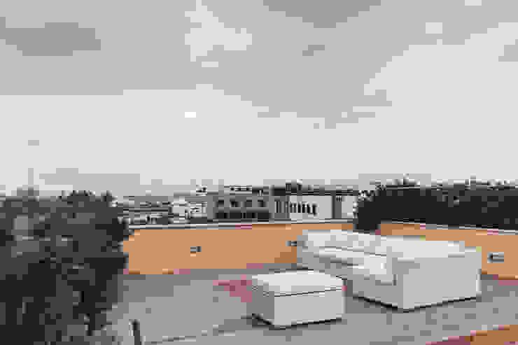 Balcones y terrazas minimalistas de Tramas Minimalista