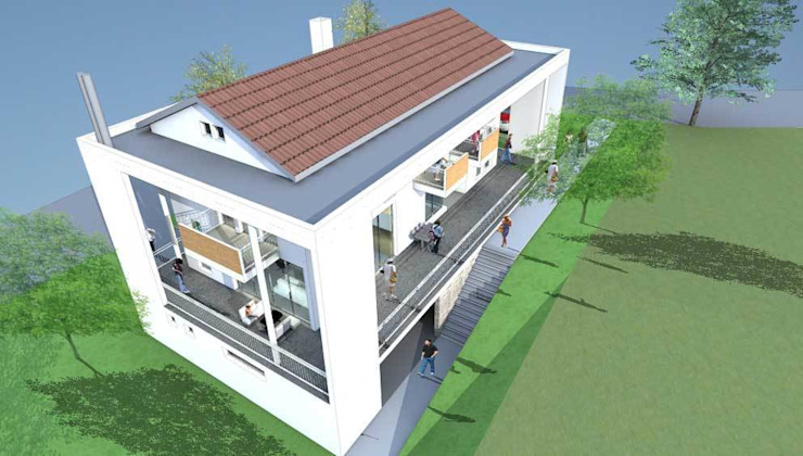 Sami Karadeniz Evi Modern Evler Modernmimarlar Tasarım Danışmanlık Modern