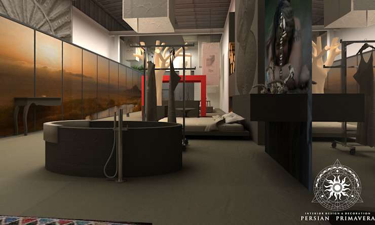 Дом мечты Ванная комната в стиле минимализм от Persian Primavera Минимализм