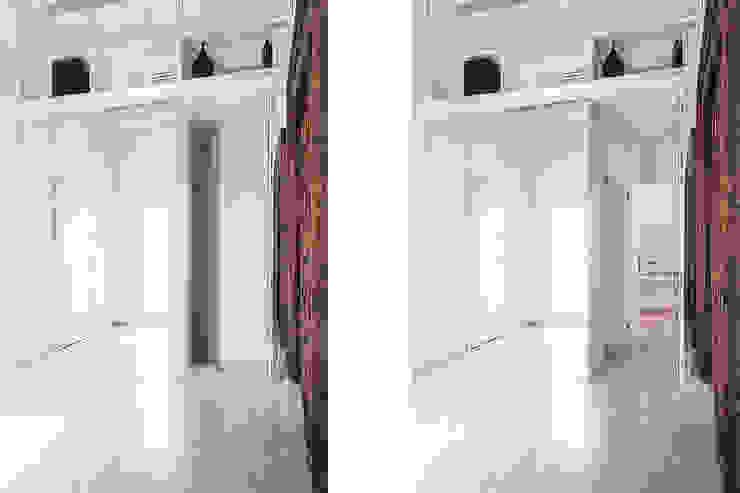Pasillos, vestíbulos y escaleras minimalistas de Tramas Minimalista