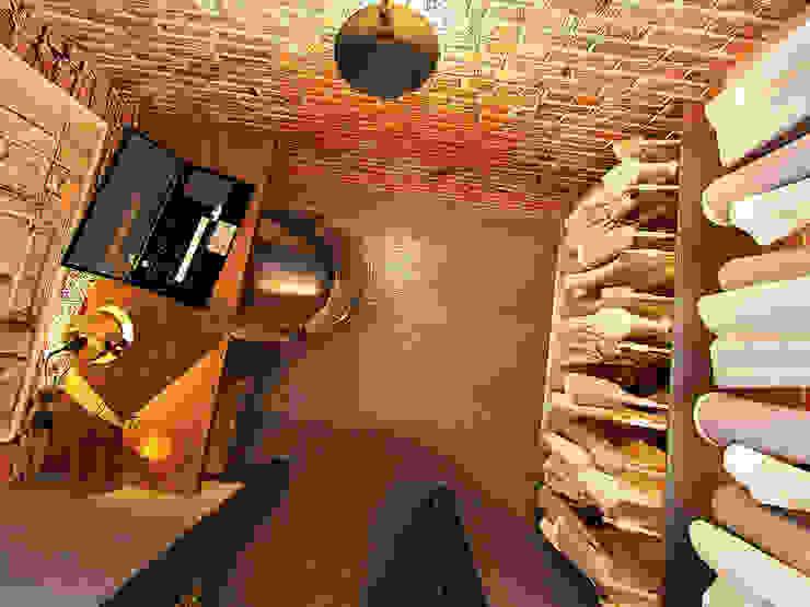 Апартаменты для молодой пары в Москве Рабочий кабинет в стиле лофт от Anna Vladimirova Лофт