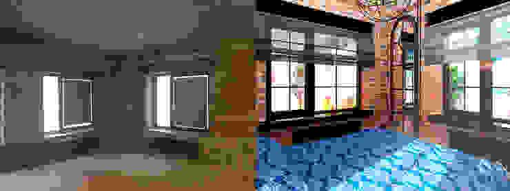 Спальня до и после от Anna Vladimirova