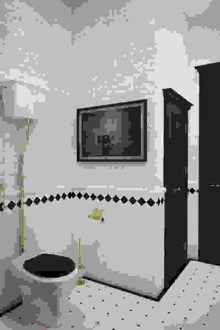 Апартаменты для молодой пары в Москве Ванная в стиле лофт от Anna Vladimirova Лофт