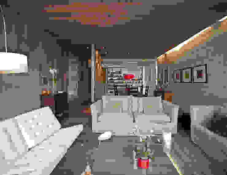 Cm2 Management Salas de estar minimalistas