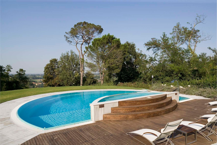 Moderne Pools von ADS Studio di Architettura Modern