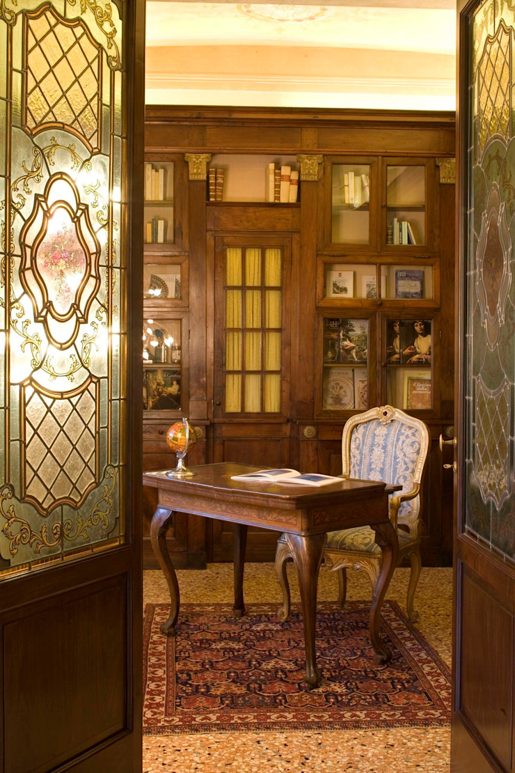 Oficinas y bibliotecas de estilo clásico de ADS Studio di Architettura Clásico