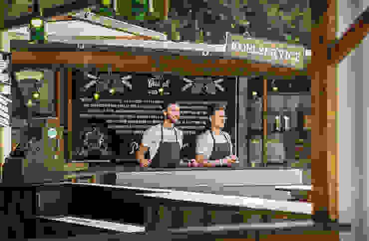 Grolsch   Brand Activation Lowlands 2014 Industriële gastronomie van Studio Linda Franse Industrieel