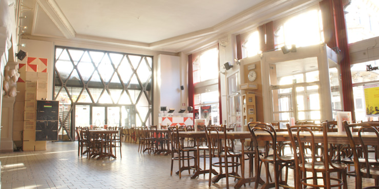 KUNSTENCENTRUM VOORUIT – GENT van Callebaut Architecten