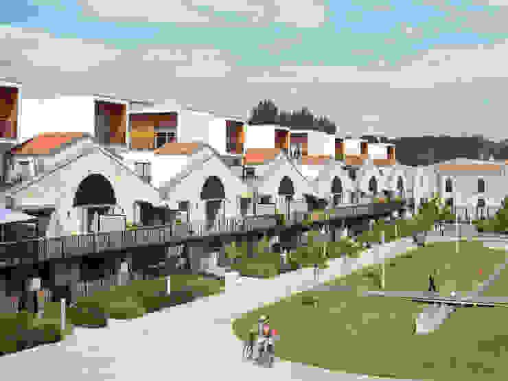 Le village Bacalan Maisons modernes par Leclercq Associés Moderne
