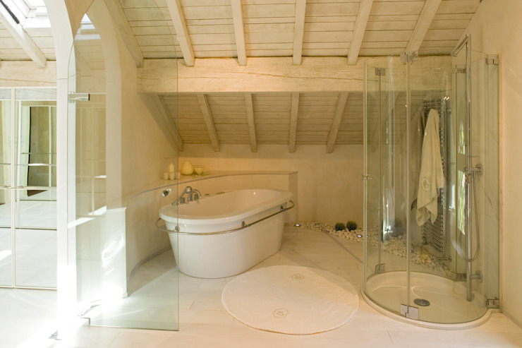 SULLE COLLINE REGGIANE ADS Studio di Architettura Bagno moderno